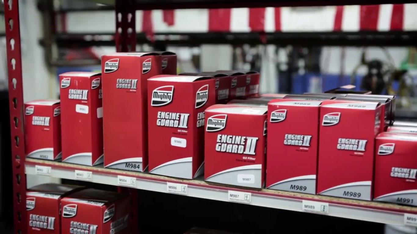 Mighty Auto Parts Inventory Control