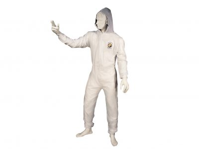 Reusable Coverall with Velcro Wrists and Ankles