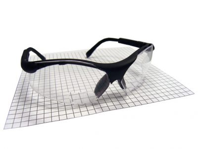 Sidewinder Safety Glasses w/Magnification Lens