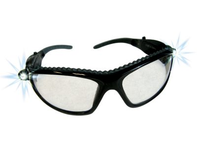 LED Safety Glasses Indoor/Outdoor Lens