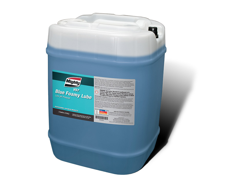 Blue Foamy Lube Low pH Presoak