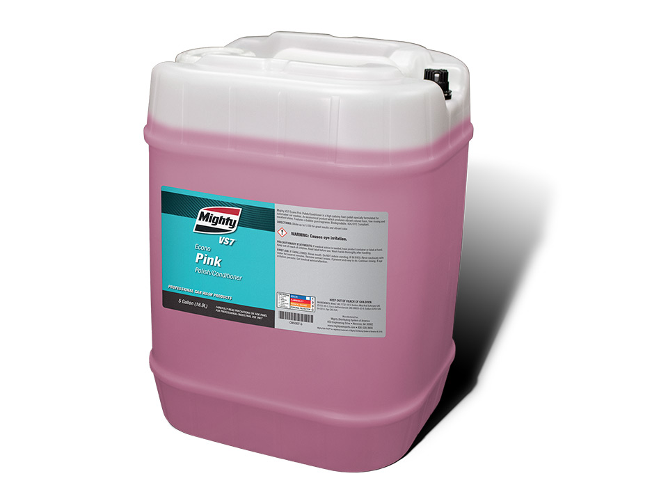 Econo Pink Polish/Conditioner