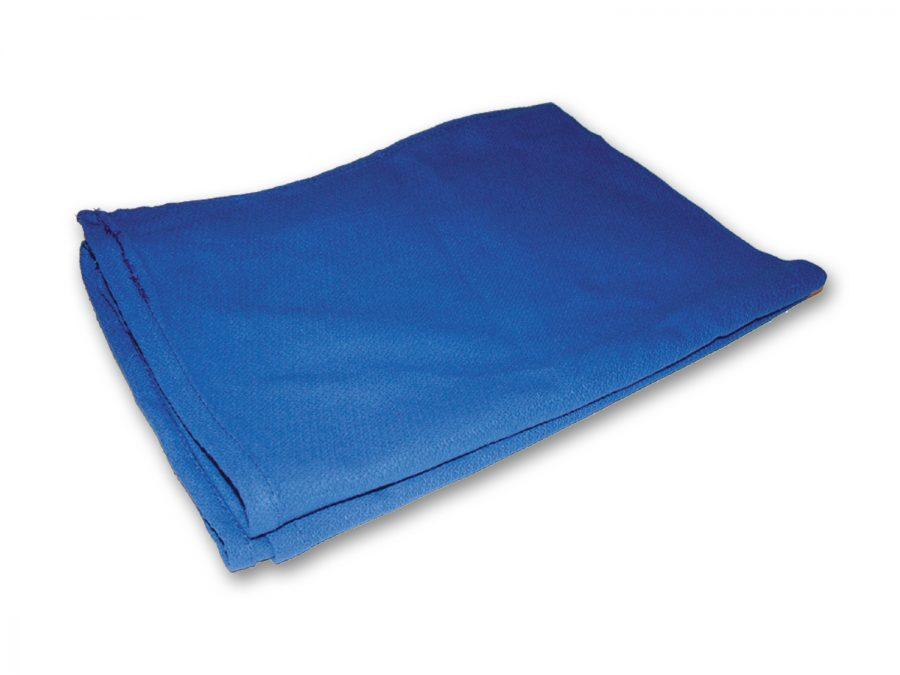 Blue Window Huck Towel