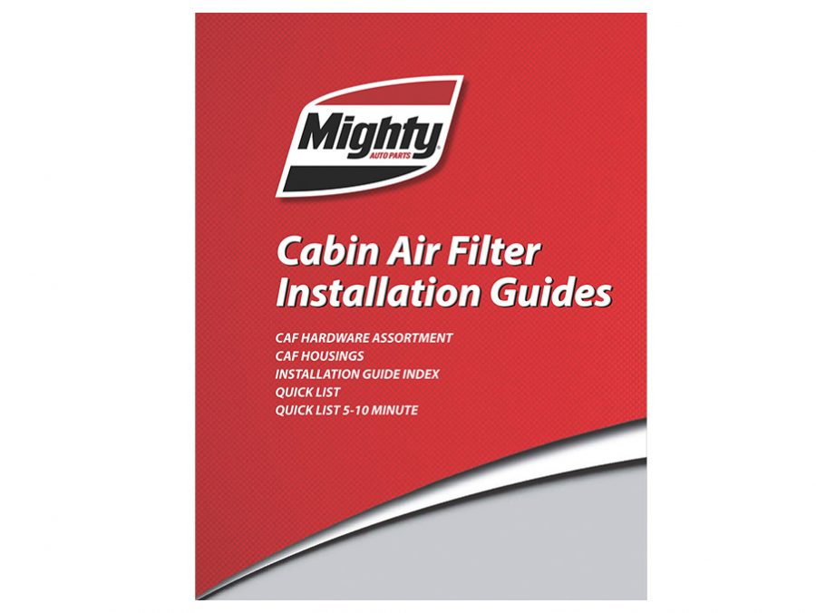 Cabin Air Filter Instruction Guide