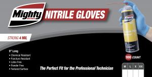 Blue Nitrile Gloves - 4MIL