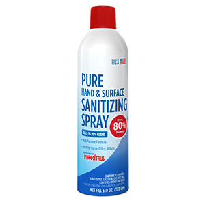 Pure Hand & Surface Sanitizing Spray