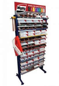 Lead & Non-Lead Wheel Weight Assortment Racks