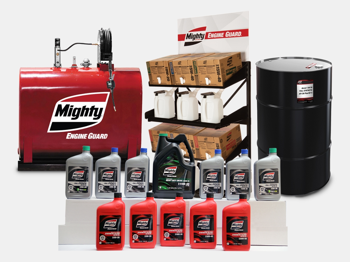 Motor Oil, Greases & Gear Oil